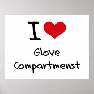 I Love Glove Compartmenst Posters