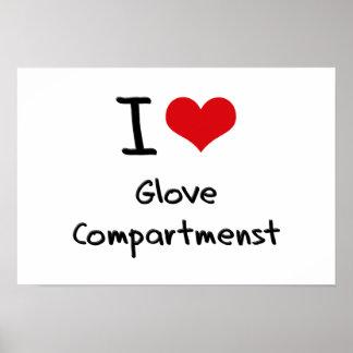 I Love Glove Compartmenst Print
