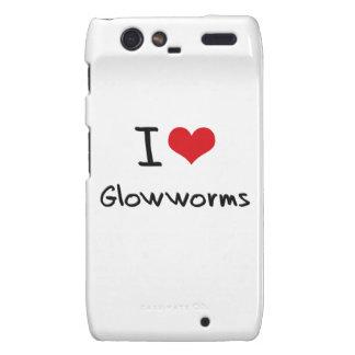 I Love Glowworms Droid RAZR Covers