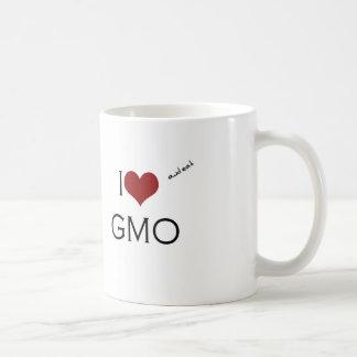 I love GMO Taza Clásica