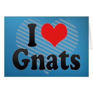 I Love Gnats Card