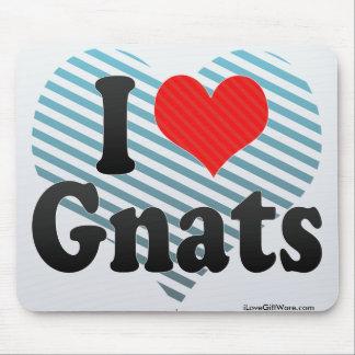 I Love Gnats Mouse Pad