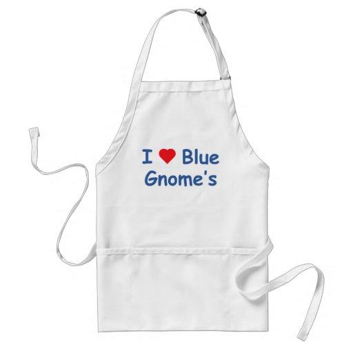I Love Gnome's Adult Apron