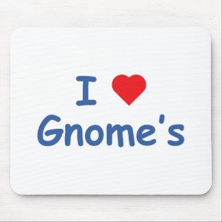 I Love Gnome's Mouse Pad