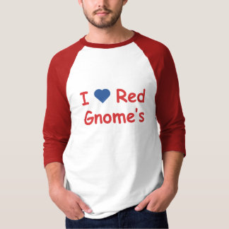 I Love Gnome's T-Shirt