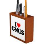 I LOVE GNUS DESK ORGANIZERS