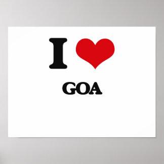 I Love GOA Print