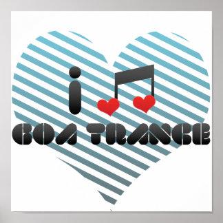 I Love Goa Trance Poster