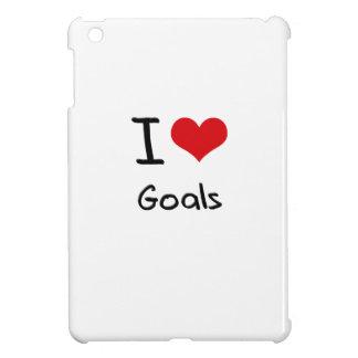 I Love Goals iPad Mini Cover