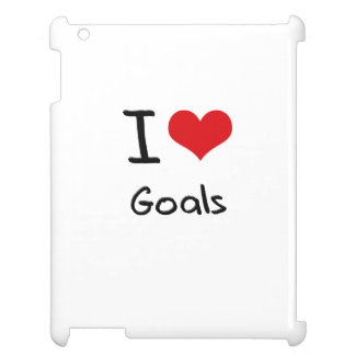 I Love Goals iPad Case