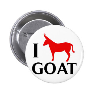 I Love Goat Button