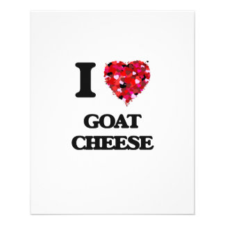 """I love Goat Cheese 4.5"""" X 5.6"""" Flyer"""