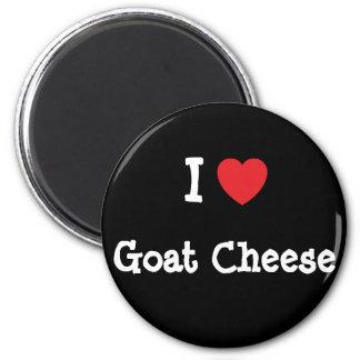 I love Goat Cheese heart T-Shirt Magnet