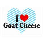 I Love Goat Cheese Postcard