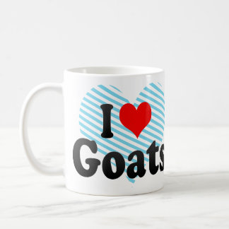 I love Goats Coffee Mug