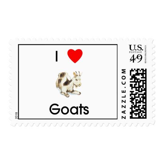 I love goats Postage