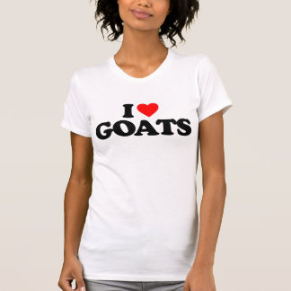 I LOVE GOATS T-Shirt