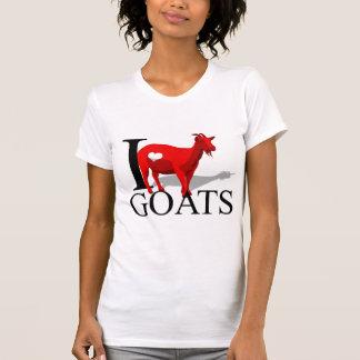I Love Goats T-shirts