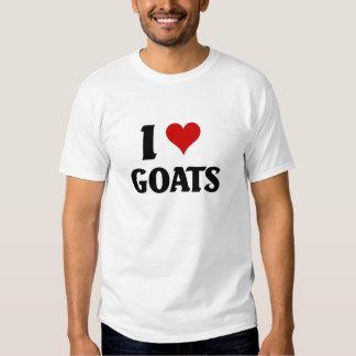 I love goats t shirts