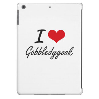 I love Gobbledygook iPad Air Cases