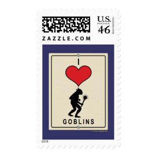 I Love Goblins Postage