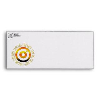 I love God & I like darts Envelopes