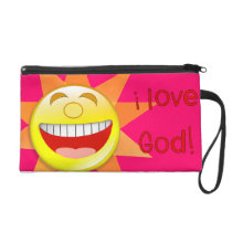 I Love God (sun) Wristlet