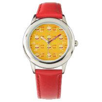 I Love God Suns Pattern Wrist Watch