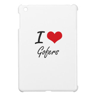 I love Gofers iPad Mini Cover