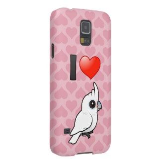 I Love Goffin's Cockatoos Galaxy S5 Case