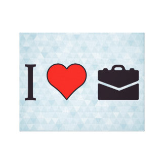 I Love Going On Business Trips Canvas Print