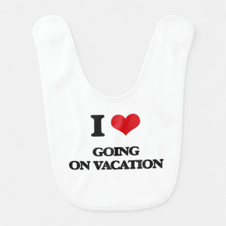 I love Going On Vacation Bibs