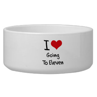I love Going To Eleven Pet Bowl