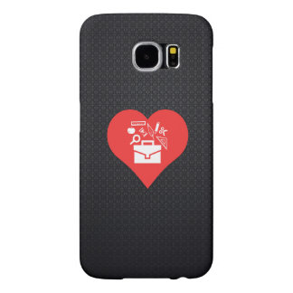 I Love Going To School Cool Icon Samsung Galaxy S6 Cases