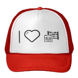 I Love Going To School Trucker Hat