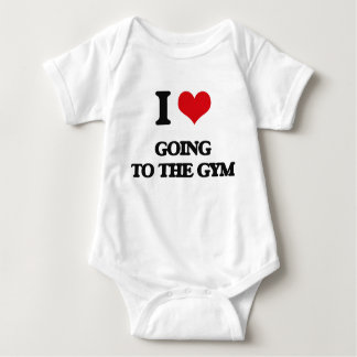 I love Going To The Gym Infant Creeper