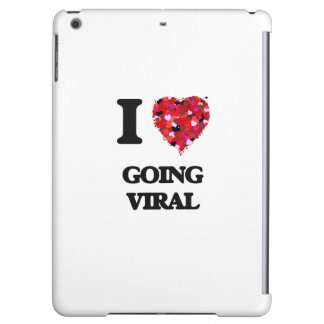 I love Going Viral iPad Air Cover