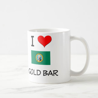 I Love Gold Bar Washington Classic White Coffee Mug