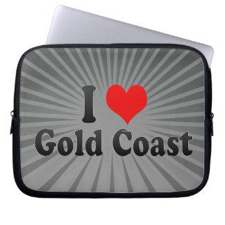 I Love Gold Coast, Australia Laptop Sleeve