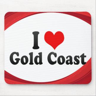 I Love Gold Coast, Australia Mousepads