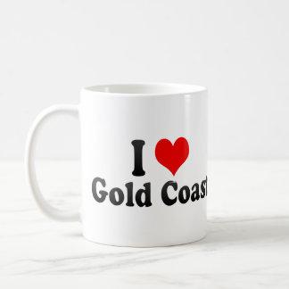 I Love Gold Coast, Australia Classic White Coffee Mug