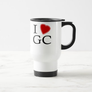 I Love Gold Coast 15 Oz Stainless Steel Travel Mug