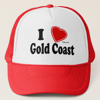 I Love Gold Coast Trucker Hat