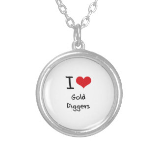 I Love Gold Diggers Custom Necklace