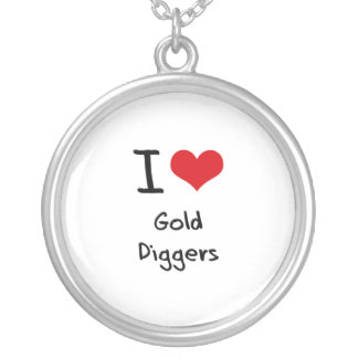 I Love Gold Diggers Pendants