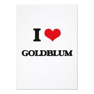 I Love Goldblum 5x7 Paper Invitation Card