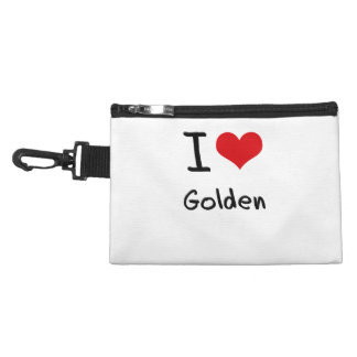 I Love Golden Accessories Bags