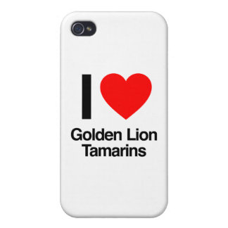 i love golden lion tamarins cases for iPhone 4