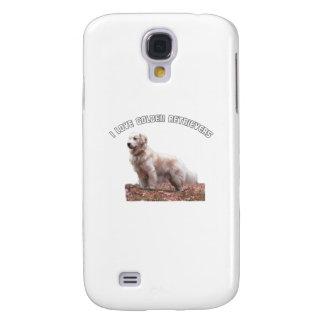 I Love Golden Retrievers Samsung Galaxy S4 Cases