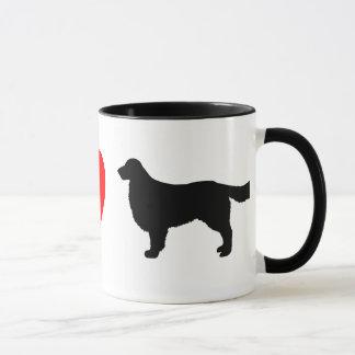 I Love Golden Retrievers Mug